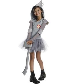 Disfraz de Chica hojalata El Mago de Oz tutú para niña
