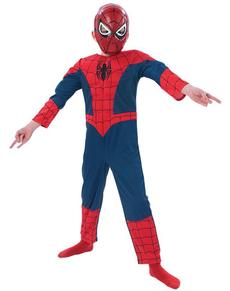 Disfraz Ultimate Spiderman musculoso para niño