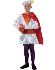 Disfraz de paje Real de Melchor para niño