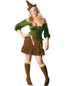 Disfraz de Mujer Espantapájaros Mago do Oz talla grande