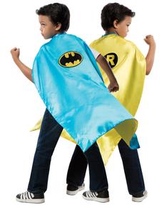 Capa reversible de Robin Batman DC Comics para niño