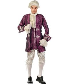 Disfraz de casanova elegante para hombre