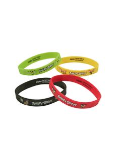 Set de 4 pulseras Angry Birds