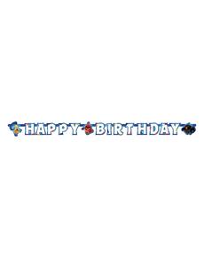 Guirnalda Feliz Cumpleaños Angry Birds