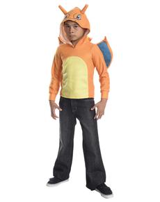 Sudadera de Charizard con capucha infantil