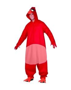 Disfraz de Red Angry Birds para adulto
