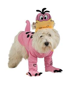 Disfraz de Dino del Los Picapiedras para perro