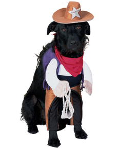 Disfraz de Sheriff perruno